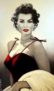 Tribute to Sophia Loren | Cinzia Pellin