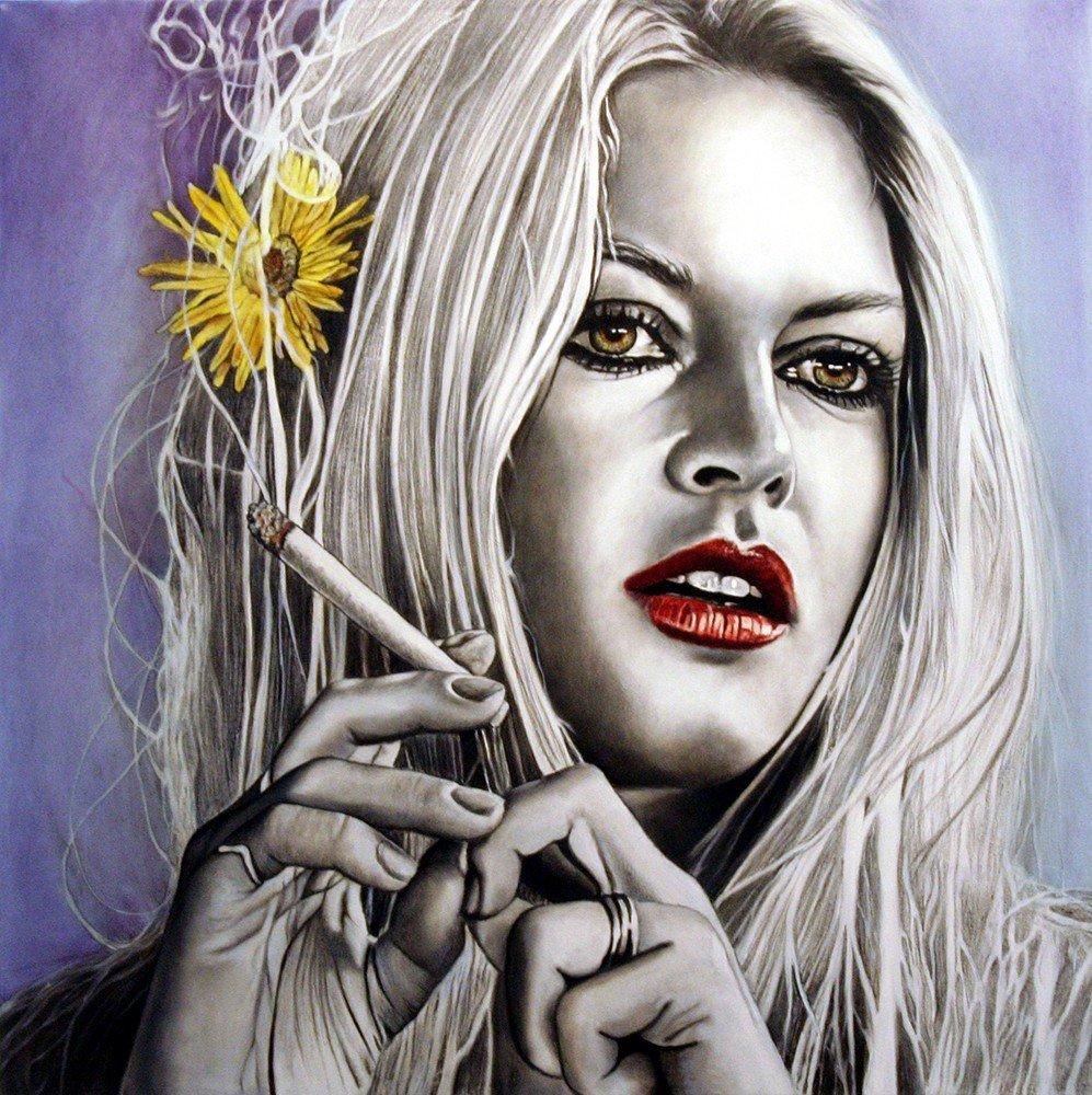 Brigitte Bardot | Psychedelic woman