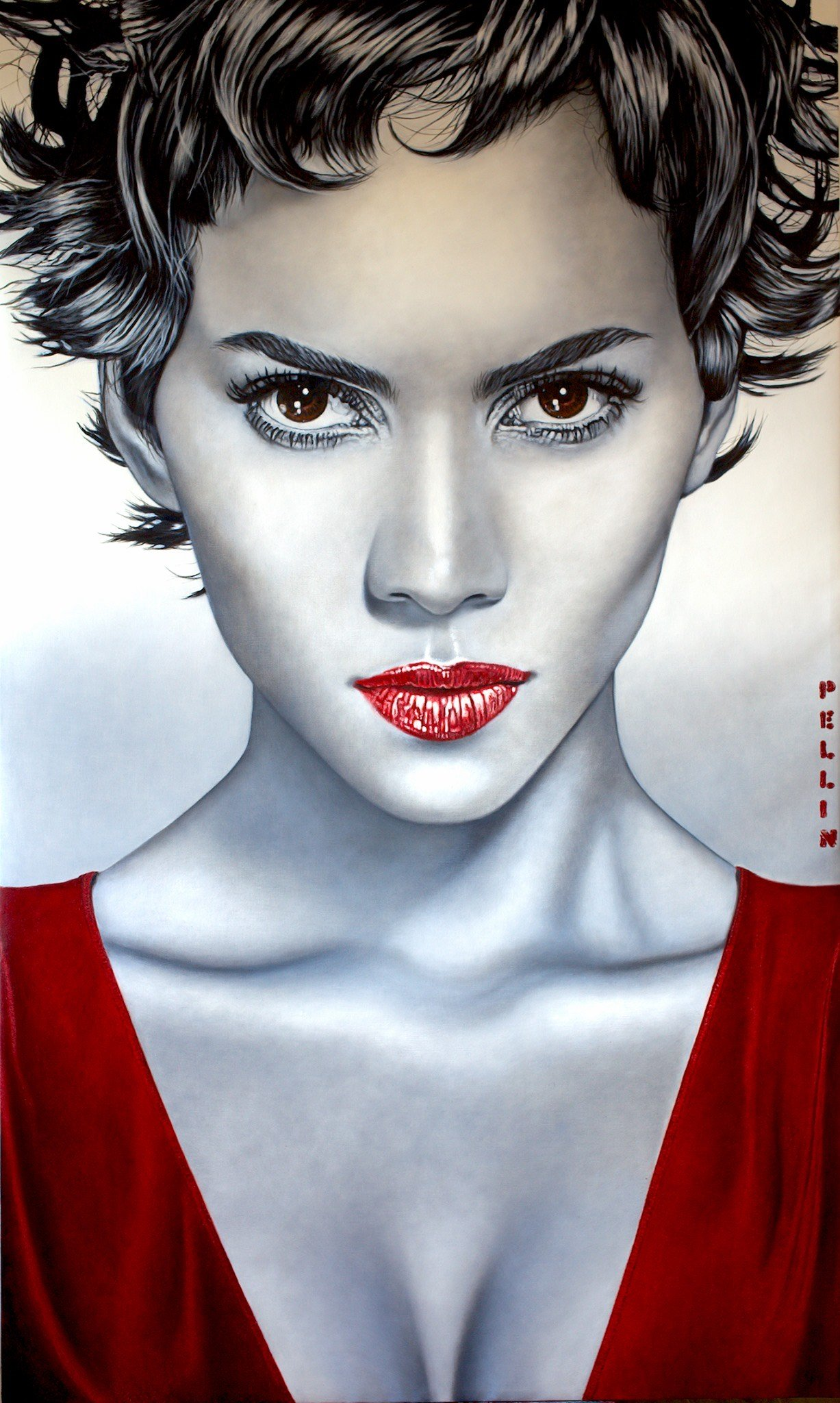 Halle Berry   Strong woman